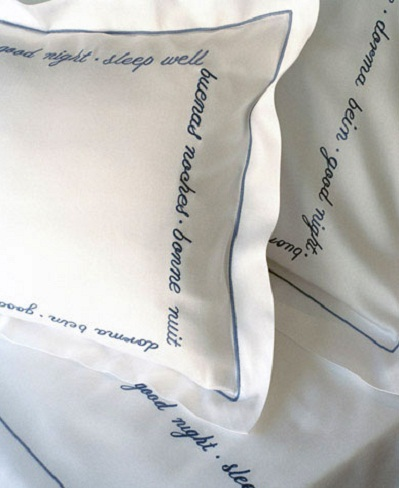 Постельное белье с вышивкой Good Night 557